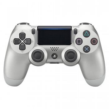 PS4 - Controller - Wireless - DualShock 4 - New - Silver (Sony)