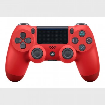 PS4 - Controller - Wireless - DualShock 4 - New Red (Sony)