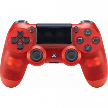 PS4 - Controller - Wireless - DualShock 4 - Crystal Red (Sony)