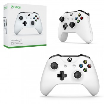 Xbox One S - Controller - Wireless - 3.5mm - White (Microsoft)