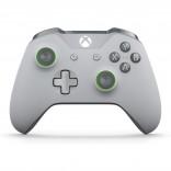 Xbox One S - Controller - Wireless - 3.5mm - Grey/Green (Microsoft)