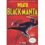 Original Nintendo Wrath Of The Black Manta (Cartridge Only) - NES