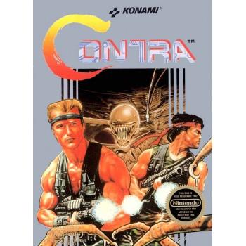 Original Nintendo Contra Pre-Played - NES