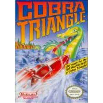 Original Nintendo Cobra Triangle Pre-Played - NES