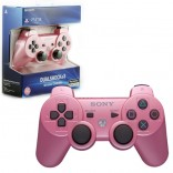 PS3 Pink Wireless DualShock 3 Controller New Official Sony Pink