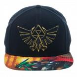 Novelty - Hats - Nintendo - Zelda Sublimated Bill Snapback