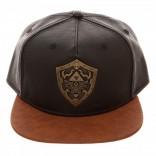 Novelty - Hats - Legend of Zelda - Metal Shield Snapback
