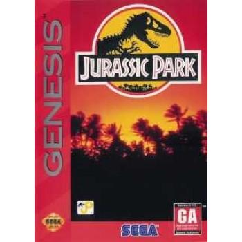 Sega Genesis Jurassic Park - In Box