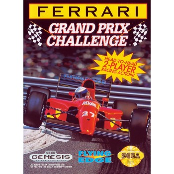 Sega Genesis Ferrari Grand Prix Challenge Pre-Played - GEN