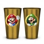 Novelty - Pint Glass - Super Mario - Mario & Luigi Pint Glass