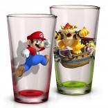 Novelty - Pint Glass - Super Mario - 2 Pack Pint Glass