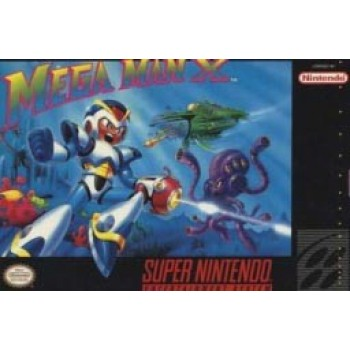 Super Nintendo Mega Man X - SNES - Box With Insert