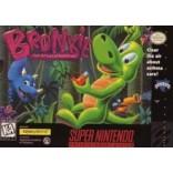 Super Nintendo Bronkie The Bronchiasaurus - SNES - Game Only