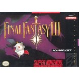 Super Nintendo Final Fantasy III - SNES Final Fantasy III - Game Only