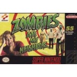 Super Nintendo Zombies Ate My Neighboors - SNES Zombies Ate My Neighboors - Game Only
