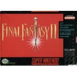 Super Nintendo Final Fantasy II - SNES Final Fantasy II - Game Only