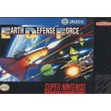 Super Nintendo Earth Defense Force (Cartridge Only) - SNES