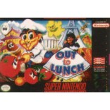 Super Nintendo Out to Lunch (Cartridge Only)- SNES