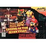 Super Nintendo Super Mario RPG - Legend of the Seven Stars Pre-Played - SNES