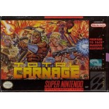 Super Nintendo Total Carnage (Cartridge Only) - SNES