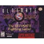 Super Nintendo Ultimate Mortal Kombat 3 - SNES