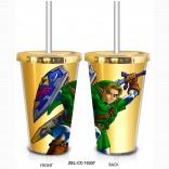 Novelty - Travel Mug - Zelda - Link w/Sword & Shield Travel Mug