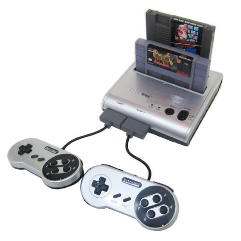 Retro bit retro duo twin video game system v20 for nes and snes games publicscrutiny Images