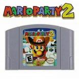 N64 Mario Party 2 - Mario Party 2 Game Cart