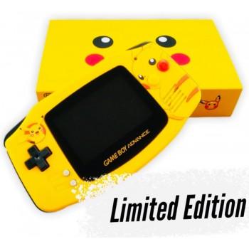 Limited Edition Pikachu Gameboy Advance w/Ultra Bright Screen