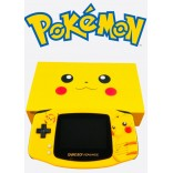 Limited Edition Pokemon Pikachu Gameboy Advance w/Ultra Bright Screen