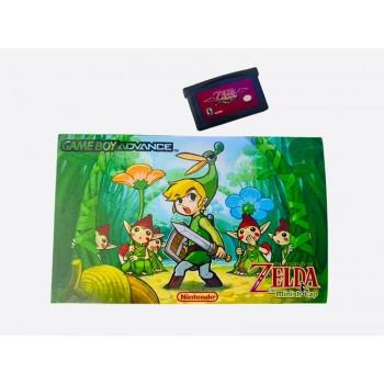 Gameboy Advance Zelda Minish Cap Edition Bundle