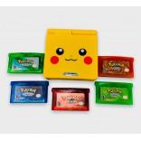 Pikachu Gameboy Advance SP Bundle w/Pokémon Games