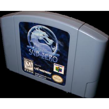 Nintendo 64 Mortal Kombat Mythologies: Sub-Zero -  N64 MK Mythologies