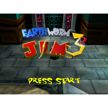 Nintendo 64 Earthworm Jim 64 - N64 Earthworm Jim 64 - Game Only