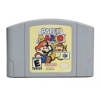 Nintendo 64 Paper Mario - Paper Mario N64 - Game Only