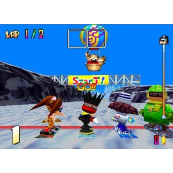Nintendo 64 Snowboard Kids - N64 Snowboard Kids - Game Only