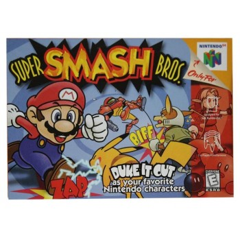 N64 Super Smash Bros. - Nintendo 64 Super Smash Bros - Game Only