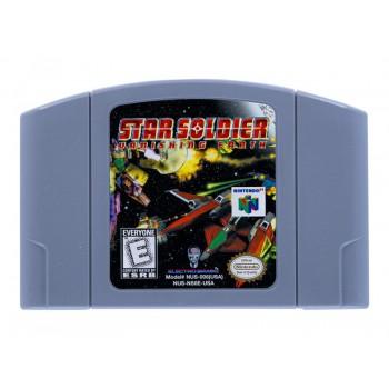 Nintendo 64 Star Soldier: Vanishing Earth - N64 Star Soldier - Game Only