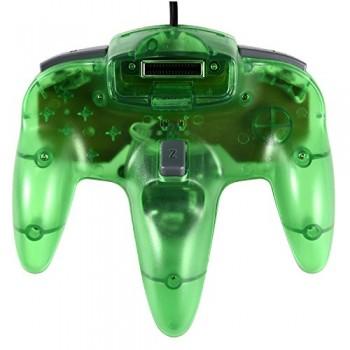 Jungle Green N64 Controller - Nintendo 64 Clear Green Controller