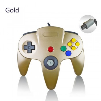 N64 Gold Controller - Nintendo 64 Gold Controller - Limited Edition