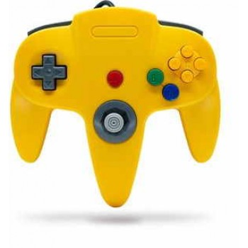 Original Style Nintendo 64 Controller Yellow - N64 Controller in Yellow