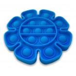 Pop Fidget Toy Blue Sunflower - Blue Flower Popping Toy