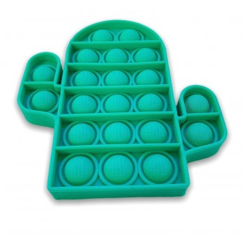 Green Cactus Pop It - Cactus Pop It Fidget Toy