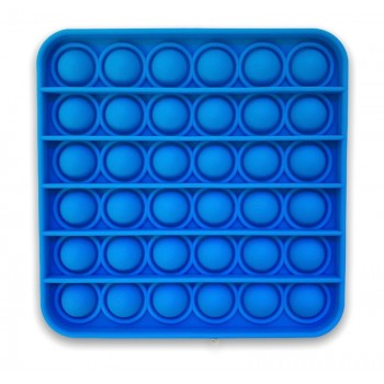 Poppet Toy Light Blue Square - Pop It Toy Square