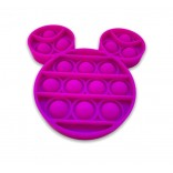 Mickey Mouse Pop It Fidget Toy - Purple Mouse Head Popping Toy
