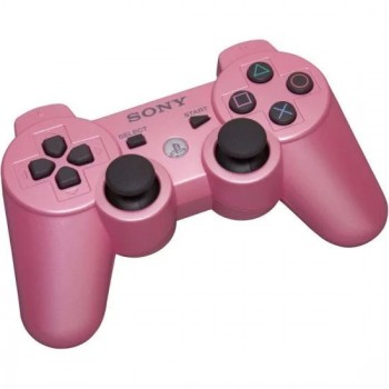 Sony PS3 Pink Controller - Dualshock 3 Pink Controller - New