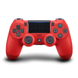 Red Sony PS4 Controller Dualshock 4 Style Wireless Controller in Magma Red