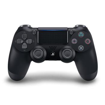 Sony PS4 Black Controller Dualshock 4 Style Playstation 4 Controller in Jet Black