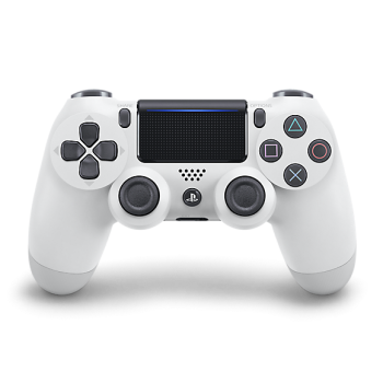 PS4 White Controller Sony Dualshock 4 Style Wireless Controller in Glacier White