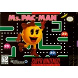 Ms. Pac-Man Super Nintendo  ( Game Only ) - SNES